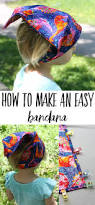 how to make a bandana for kids swoodson says
