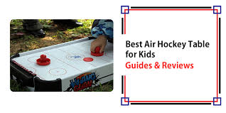 kids air hockey table best air hockey table for kids in 2018 guide and reviews