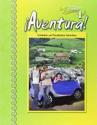 aventura level 1 grammar and vocabulary exercises spanish
