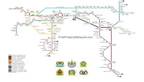 Property Line Map Penang Integrated Transport Masterplan And Penang Lrt Route Map