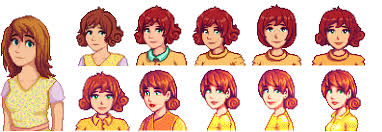 pennys no hair stlye what are your favourite versions of the singles stardewvalley