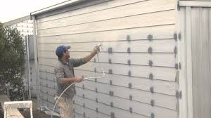 how to spray a house airless spray painting exterior walls you