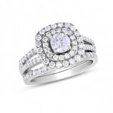 Gold Diamond Wedding Ring Sets by Bridal Sets Engagement And Wedding Ring Sets Samuels Jewelers