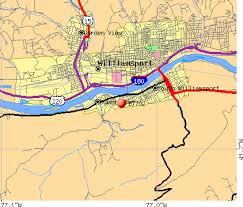 map of williamsport pa 17702 zip code south williamsport pennsylvania profile homes