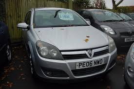 vauxhall astra 2006 used vauxhall astra sxi 2006 cars for sale motors co uk