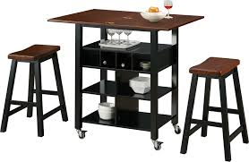 phoenix kitchen island with 2 stools