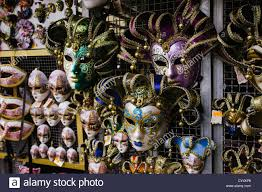 venetian mask for sale venetian masks for sale in pisa italy stock photo royalty free