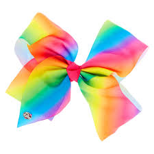jojo siwa large rainbow signature hair bow s
