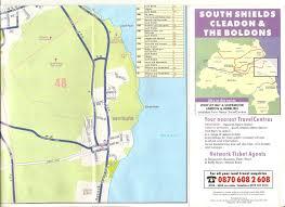 Tyne Metro Map by Map Old Tyne U0026 Wear Bus Timetables