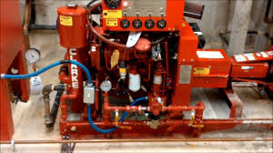 clarke vm motori fire pump youtube
