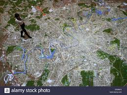 Moscow Map Moscow Russia 25th Dec 2014 A 178 Square Metre Interactive Map