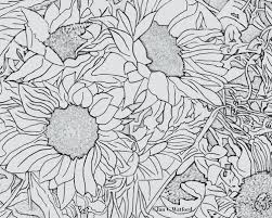 Sunflowers 1 Adult Coloring Pages Coloring Page Printable Sunflower Coloring Page
