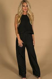 jumpsuit in suited for you jumpsuit in black impressions boutique
