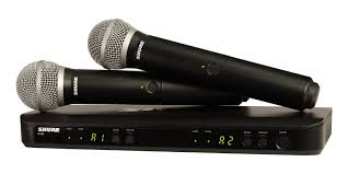 blx288 pg58 dual channel handheld wireless system shure americas