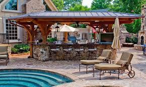 outdoor patio bar ideas