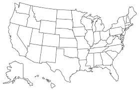 state map map of states visited us state map usa map with color states