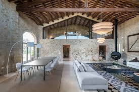 mediterranean country stone house gloria duran 1 idesignarch
