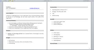 Sample Dot Net Resume For Experienced by Resume Format For Fresher And Experience Dotnet Programmer