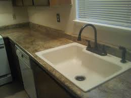 Waterfall Kitchen Sink by Furniture Wilsonart Laminate Countertops Plus Sink With Black