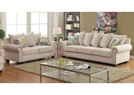 Transitional Style Furniture - maggy transitional style sofa