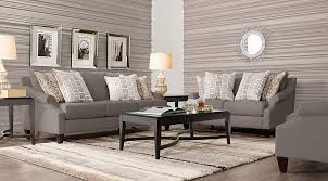 Rooms To Go Living Room Furniture by Elson Platinum 7 Pc Living Room Living Room Sets Beige