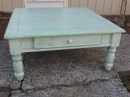Distressed Coffee Tables by Furniture Distressed Coffee Table With Grey Ceramic Floor And