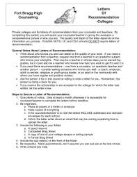 Guidance Counselor Brag Sheet Brag Sheet For Counselor Letter Of Recommendation
