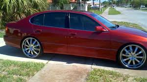 custom 2006 lexus gs300 lexus gs gs400 lowered on 22 u0027s 22 inch youtube