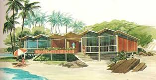 mid century modern vacation home plans a frames house design