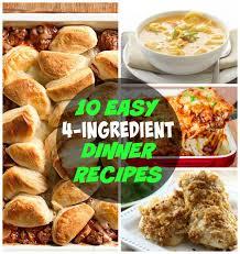 Dinner Ideas For A Diabetic 10 Easy 4 Ingredient Dinner Recipes Inspiration For Moms