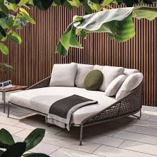 outdoor daybeds as comfortable patio chairs for pleasant open air