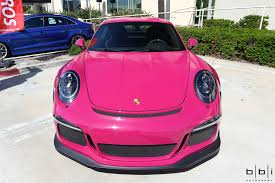 pink porsche convertible incredible pts ruby star porsche 911 gt3 rs gtspirit