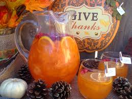picture thanksgiving punch recipe with viniq glow shimmery