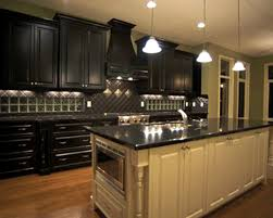 bathroom inspiring kitchens traditional black kitchen cabinets