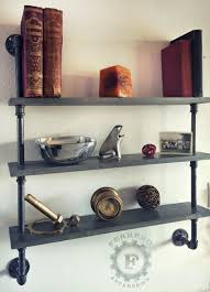 steampunk shelf industrial shelves wall shelves industrial