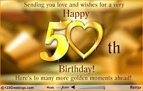 birthday wishes cards pics happy 50th birthday wishes free clip free clip