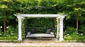 Pergola Swings Backyard Swing Ideas Backyard Landscape Design