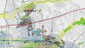 Zip Code Map Charlotte Nc Northend Charlotte U0027s Next Great Neighborhood U2013 Landdesign
