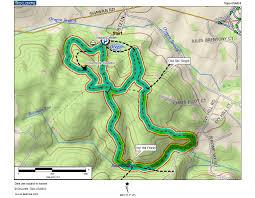 Oregon Trail Maps by Mountain Stream Flood Oregon Ridge Park Trail Map