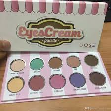 makeup dose of colors eyescream eyeshadow palette ice cream eye