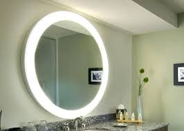 Bathroom Mirror And Light Wall Mounted Lighted Vanity Mirror Led Mam84836 Light Wall