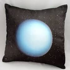 teal geometric chemistry pillow periodic table geek nerd home