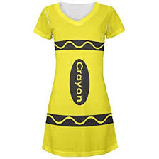 Crayon Costume Cheap Yellow Crayon Costume Find Yellow Crayon Costume Deals On