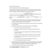 cohabitation agreement 30 free templates u0026 forms template lab