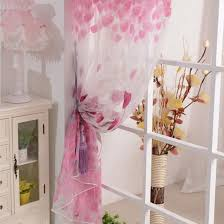 Home Flower Decoration Flower Window Curtains Promotion Shop For Promotional Flower