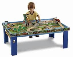 thomas train table amazon thomas wooden railway wooden railway play table fisher price http