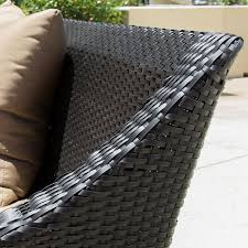 providence 8 piece resin wicker patio seating set by lakeview