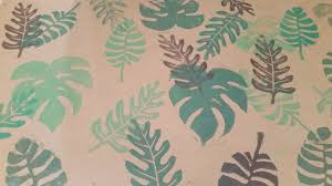 tropical wrapping paper tropical leaves wrapping paper skillshare projects