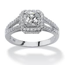 engagement rings silver images Engagement rings silver engagement rings cubic zirconia jpg