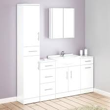 White Gloss Bathroom Furniture High Gloss Bathroom Cabinets Appealing High Gloss Bathroom Wall